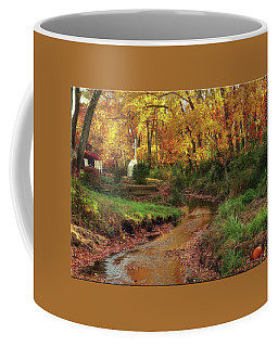 Golden Leaves Of Autumn Coffee Mug by Mikki Cucuzzo