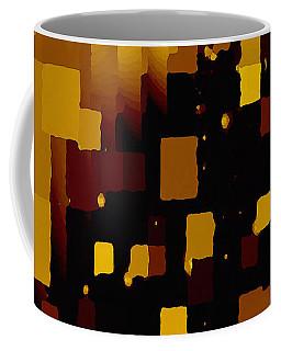 Golden Light And Dark  Coffee Mug