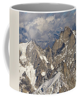 Golden Light At Aiguille Du Midi Coffee Mug