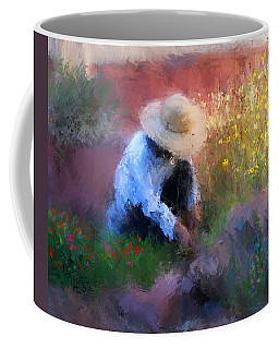 Golden Light Coffee Mug by Colleen Taylor