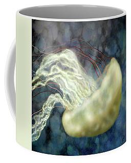 Golden Light Jellyfish Coffee Mug