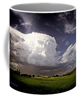 Golden Light Thunderstorm Coffee Mug by Mick Anderson