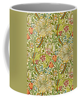 Golden Lily Coffee Mug by William Morris