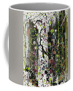 Golden Lime Royal Purple Dreams Coffee Mug