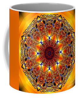 Golden Mandala Coffee Mug