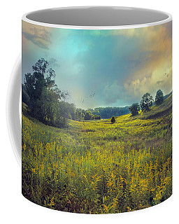 Coffee Mug featuring the photograph Golden Meadows by John Rivera
