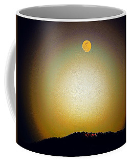 Coffee Mug featuring the photograph Golden Moon by Joseph Frank Baraba