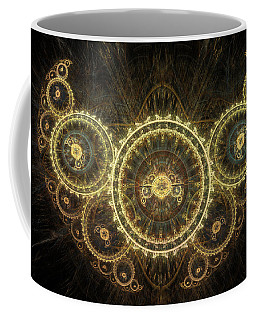 Golden Moth Coffee Mug