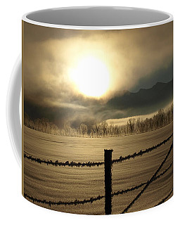 Coffee Mug featuring the photograph Golden Morning by DeeLon Merritt