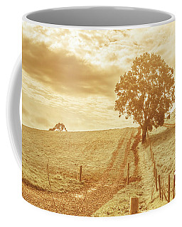 Golden Morning In Outback Australia Coffee Mug