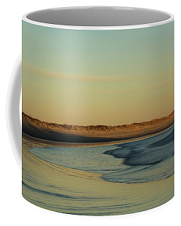 Golden Morning On Rhode Island Coast Coffee Mug