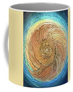 Golden Nautilus Coffee Mug