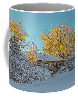 Golden Needles Coffee Mug