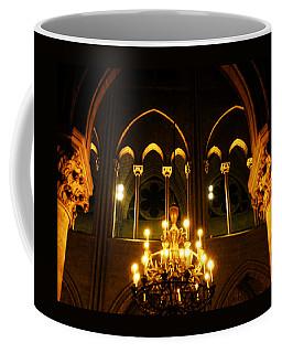 Golden Notre Dame Coffee Mug