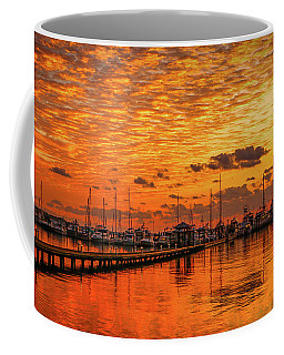 Golden Orange Sunrise Coffee Mug