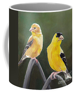 Golden Pair Coffee Mug