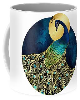 Golden Peacock Coffee Mug