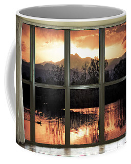 Golden Ponds Bay Window View Coffee Mug
