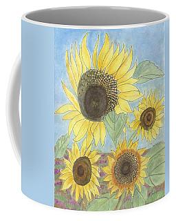 Golden Quartet Coffee Mug