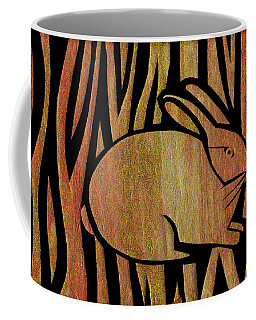 Golden Rabbit Coffee Mug
