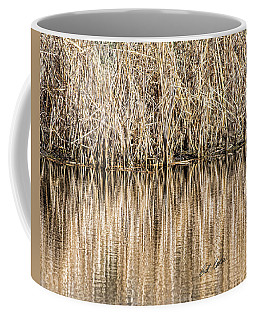 Golden Reed Reflection Coffee Mug