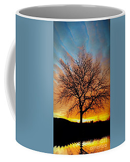 Golden Reflection Coffee Mug