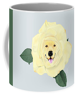 Golden Rose Coffee Mug
