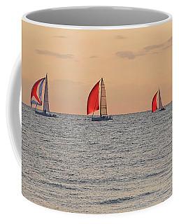 Golden Sail Coffee Mug