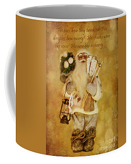 Golden Santa Card 2015 Coffee Mug