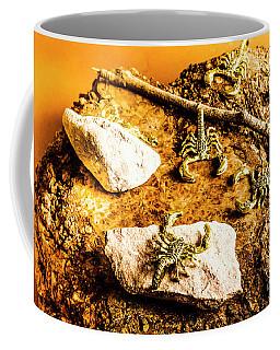 Golden Scorpion Amulets Coffee Mug