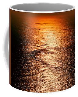 Golden Sea In Alanya Coffee Mug