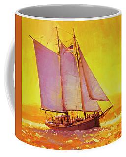 Golden Sea Coffee Mug