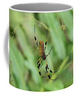 Golden Silk Orb-weaver Spider Coffee Mug
