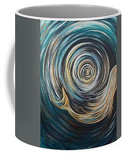 Golden Sirena Mermaid Spiral Coffee Mug
