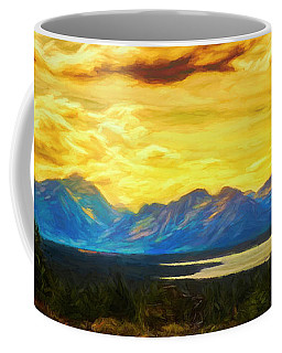Golden Sky ... Coffee Mug