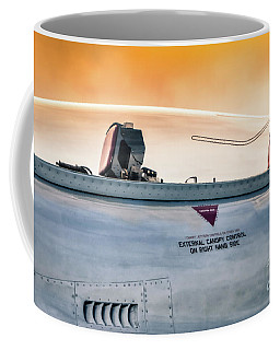 Coffee Mug featuring the photograph Golden Sky by Lawrence Burry