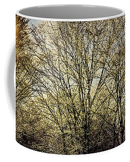 Golden Snow Coffee Mug