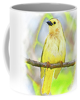 Golden Songbird Coffee Mug