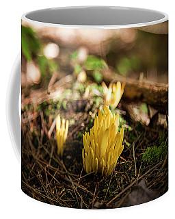 Golden Spindles Coffee Mug