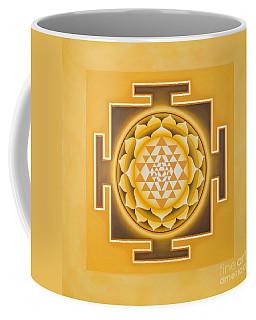 Golden Sri Yantra - The Original Coffee Mug