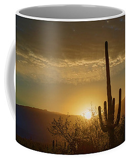 Coffee Mug featuring the photograph Golden Sunrise by Dan McManus