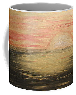 Golden Sunset Coffee Mug by Rachel Hannah