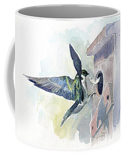 Golden Swallow Coffee Mug