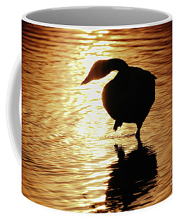 Golden Swan Coffee Mug