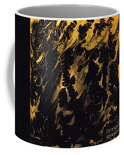 Golden Swirls Coffee Mug