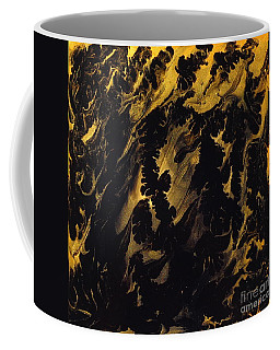 Golden Swirls Coffee Mug