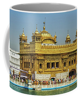 Golden Temple Punjab India With Clear Sky 2 Coffee Mug