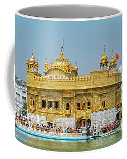 Golden Temple Punjab India With Clear Sky Coffee Mug