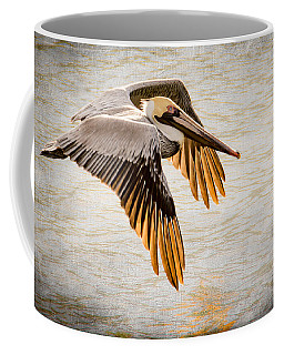 Golden Tips Coffee Mug