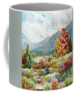 Golden Trail Coffee Mug